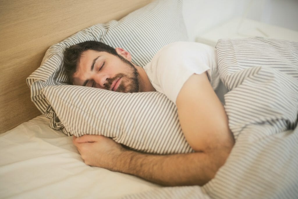 sleep before interview